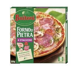 Pizza forno de pietra 4 stagioni