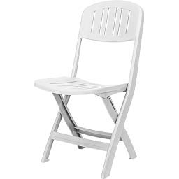 Cadeira Dobrável Bali Branca