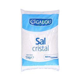Sal cristal embalado