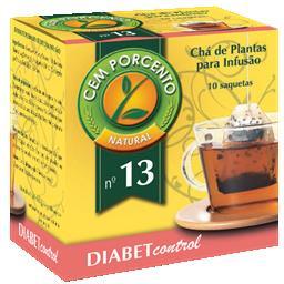 Infusão nº 13 diabet control