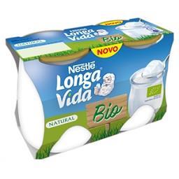 Iogurte vidro bio natural