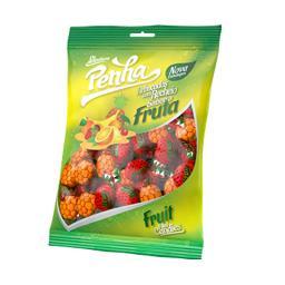 Rebuçados com recheio, sabor a fruta