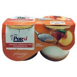 Iogurte Pedaços Pêssego