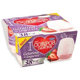 Gelatina de Iogurte Corpos Danone Morango