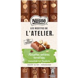 Chocolate de leite com avelãs