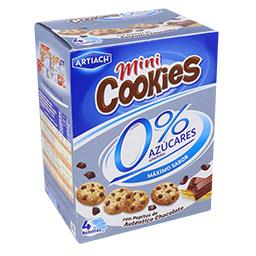Bolachas cookies 0% açúcares