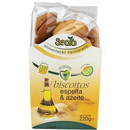 Biscoitos de espelta c/azeite bio 220g