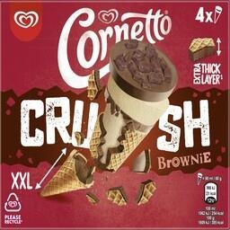 Cornetto crush brownie