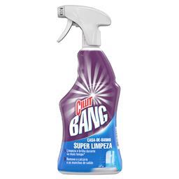 Spray limpeza casa de banho