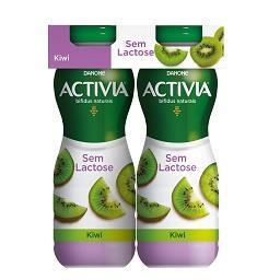 Activia líquido sem lactose kiwi