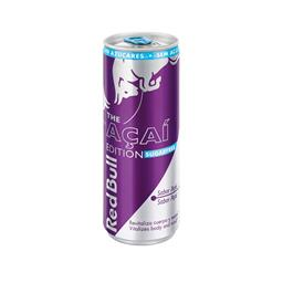 Bebida energética com sabor a coco e mirtilo