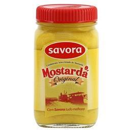 Savora frasco mostarda 100g