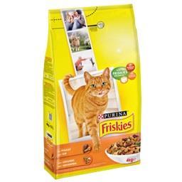 Alimento seco gato frango e legumes