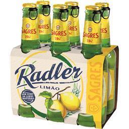 Cerveja c/ álcool radler