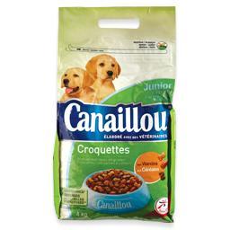 Alimento seco para cão, croquetes junior