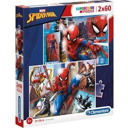 Puzzle Spiderman 2 x 60 peças
