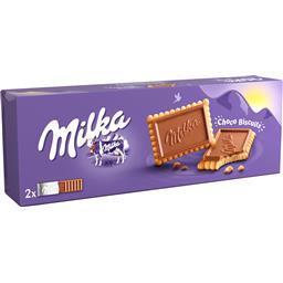 Bolachas de chocolate leite