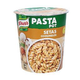 Pasta pot cogumelos