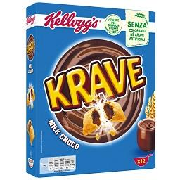 Cereais krave chocolate de leite