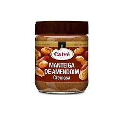 Manteiga amendoim cremosa
