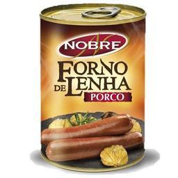 Sals. porco lata f.lenha 160g
