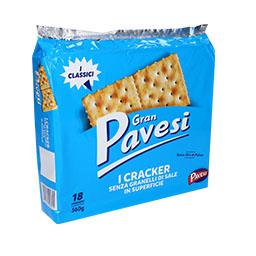 Crackers s/ sal superficie