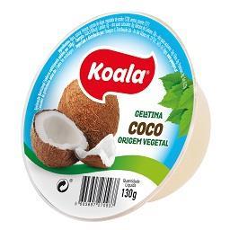 Gelatina de coco origem vegetal