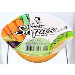 Creme de feijão c/ espinafres