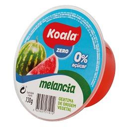 Gelatina de origem vegetal de melancia 0%