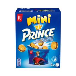 Bolachas mini prince recheadas com chocolate