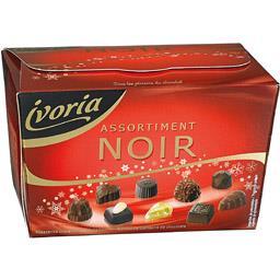 Bombons de Chocolate Sortidos Negro