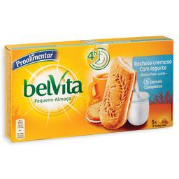 Bolachas belvita c/ recheio iogurte