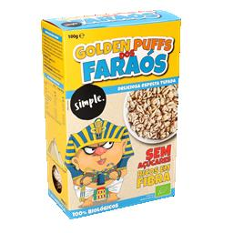Cereais bio golden puffs faraós