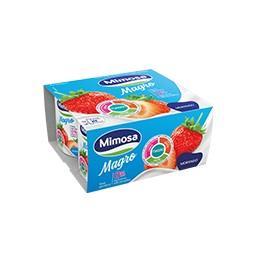 Iogurte magro aroma morango