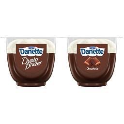 Sobremesa Danette duplo prazer chocolate