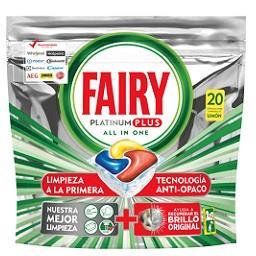Detergente para máquina de loiça Platinum Plus