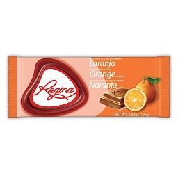 Tablete chocolate com arôma de laranja