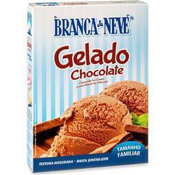 Gelado chocolate