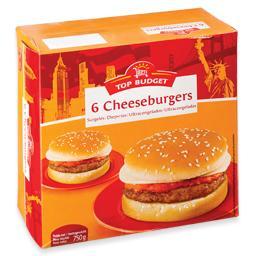 Cheeseburger, 6 unidades