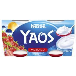 Iogurte grego morango