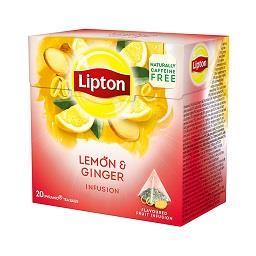 20 saquetas infusão limão gengibre
