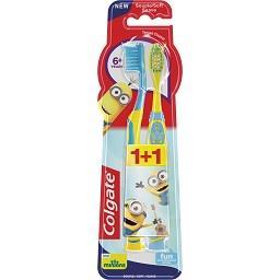 Escova dentífrica infantil, Minions, + 6 anos