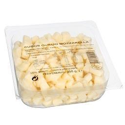 Queijo em Cubos Mozzarella