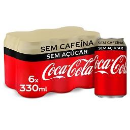 Refrigerante c/ gás zero s/ cafeína