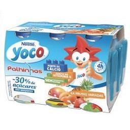 Iogurte líquido yoco de frutas variadas