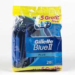Máquina descartável, blue ii plus, 15 + 5 unidades