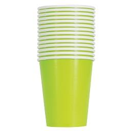 14 Copos de 255 ml Verdes