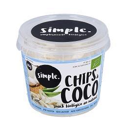 Snack coco natural biológico 60g