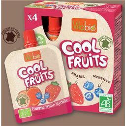 Cool fruits maçã/morango/mirtilo