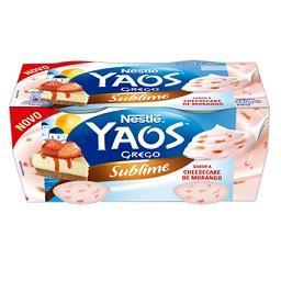 Iogurte Yaos Cheesecake Morango